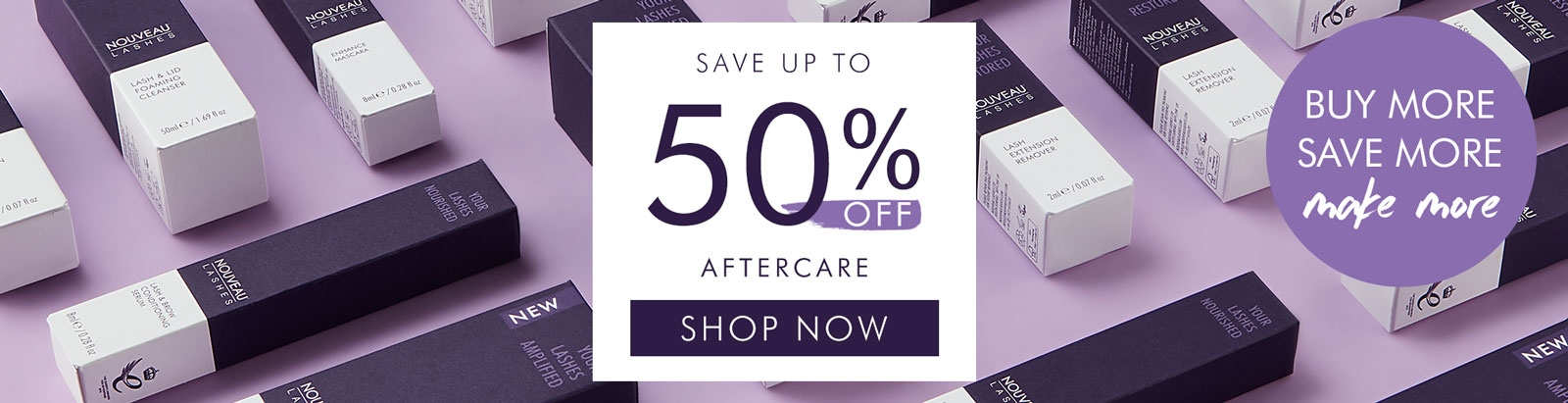 multi-buy aftercare up to 50% off